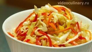 Капустный салат по-фанагорски - Рецепт Бабушки Эммы