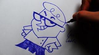 Como Desenhar o Dexter [Dexter