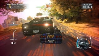 Need For Speed The Run: Stage 9 Campaign State Forest [Extreme Difficulty]  w/ Tier 6 JDM Cars