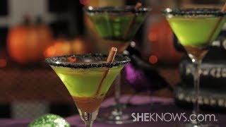 Tasty Caramel Apple Martini For Halloween