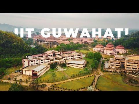IIT GUWAHATI - DRONE VIDEO