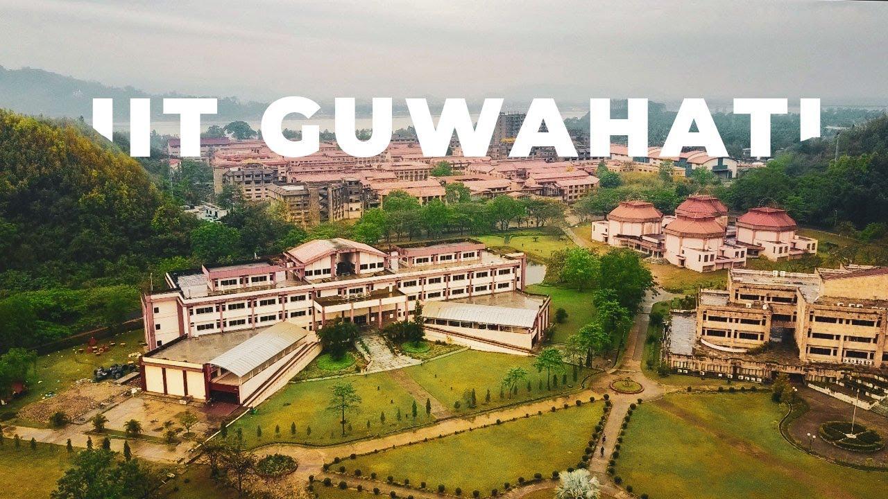 IIT GUWAHATI - DRONE VIDEO - YouTube