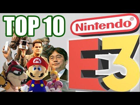 Top 10 BEST Nintendo E3 Shows/Presentations!