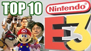 Top 10 BEST Nintendo E3 Shows/Presentations!