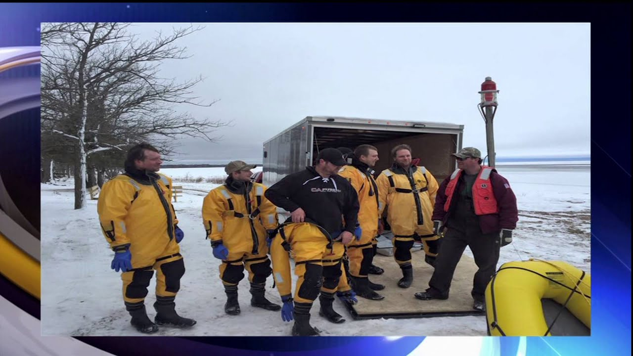 Red lake ice fishing rescue lakeland news at ten for Red lake mn ice fishing