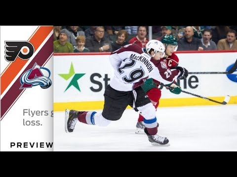 Top NHL Pick 3/28/18 Colorado Avalanche vs Flyers Hockey Wednesday NHL