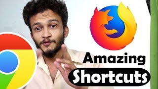 {HINDI} Browser Keyboard Shortcuts For Chrome, Firefox, And Edge || shortcuts everyone should know