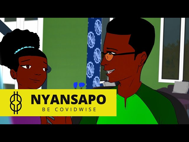 Nyansapo -  Be Covidwise - Episode 6 | Cartoon Series Ghana