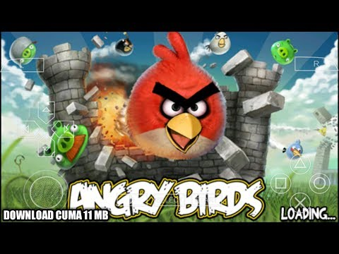 Cara Download Dan Install Game Angry Birds PPSSPP Android