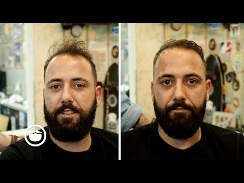 Barber Tames Wild Look