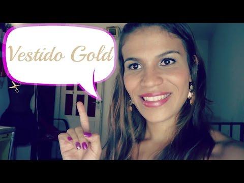 Vestido Gold /