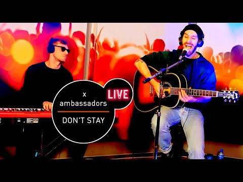 X Ambassadors - Don't Stay (Live at MUZO.FM)