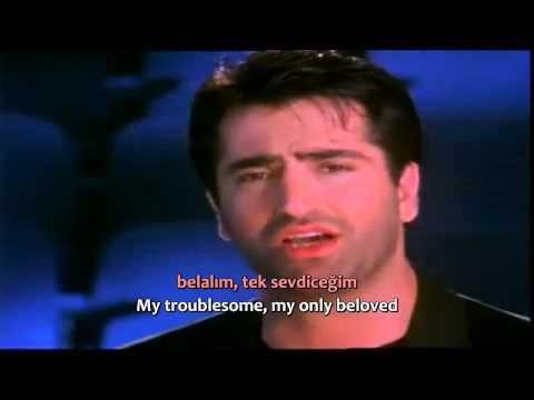 Mahsun Kırmızıgül - Belalım - (Enhlish Translation+Turkish Lyrics) Subtitles. HQ. 720p.