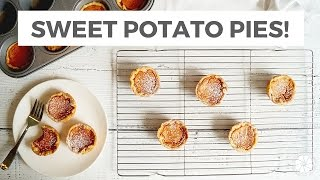Sweet Potato Pie Recipe & Collab With Edgy Veg  Healthy Grocery Girl