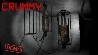 THIS IS SO SCARY!! Crummy Demo Playthrough Gameplay (indie horror Game)