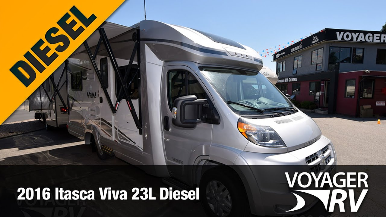 maxresdefault 2016 itasca viva 23l diesel by winnebago ind video tour voyager 2015 Winnebago RV at reclaimingppi.co