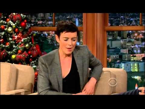 Craig Ferguson 121312E Late Late  Olivia Williams