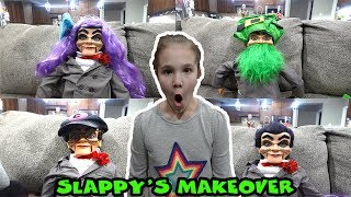 Slappy Gets A Makeover! Hide And Seek With Slappy!