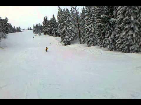 Travis Seaton I-Park Mt. Bachelor Ski Resort
