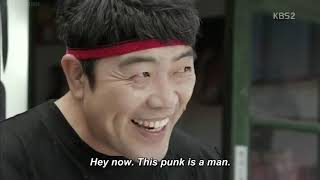 korean movie man in mask