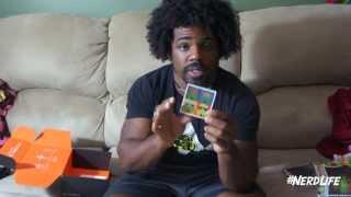 Xavier Woods Lootcrate unboxing - September 2013