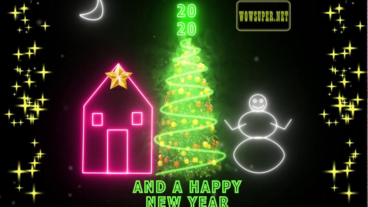 2020 Christmas Ecard eCard   Christmas & New Year Season's Greetings (2020)   YouTube