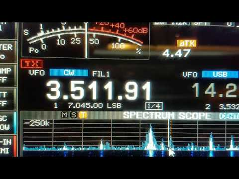 8Q7SP, MALDIVES ASIA, 3.5MHz, CW, Worked by HL2WA