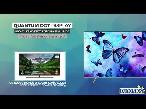 Samsung | TV QLED UHD Flat | Serie 6 | 55Q6FN 2018