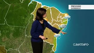 Previsão Nordeste – Chuva em Aracaju e Maceió