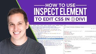 How to use Inspect Element to edit CSS in Divi