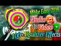 How To Make Audio to Video visual effect | Audio Visual Effects | Animated Music effects