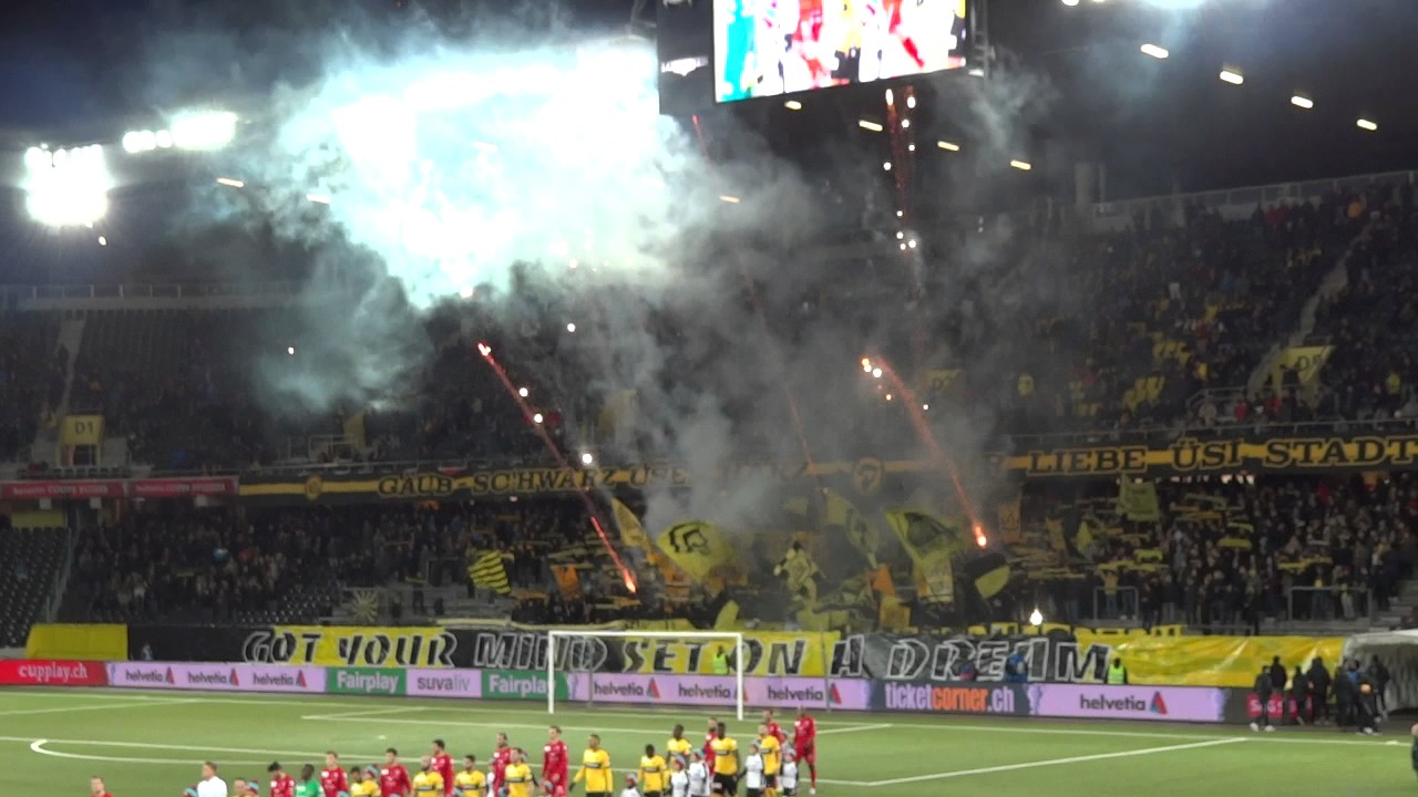 Bsc Young Boys Fc Winterthur 01 03 2017 001 Youtube