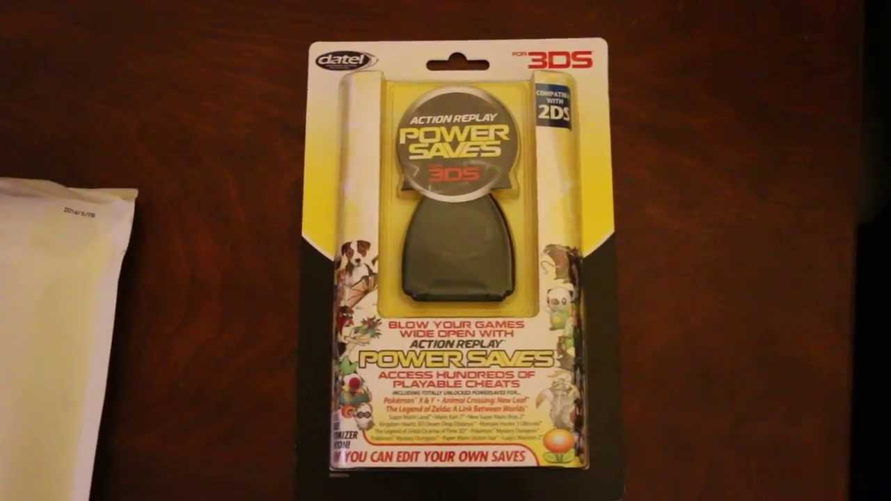 Datel Action Replay Power Saves (Pro) Unboxing for the 3DS
