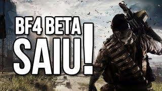 BATTLEFIELD 4 BETA - SAIU!!!