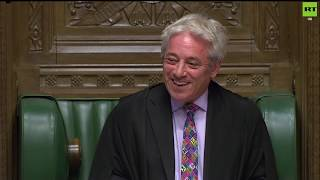 LIVE: Will Speaker John Bercow allow a meaningful vote on Boris Johnson's #BrexitDeal today?