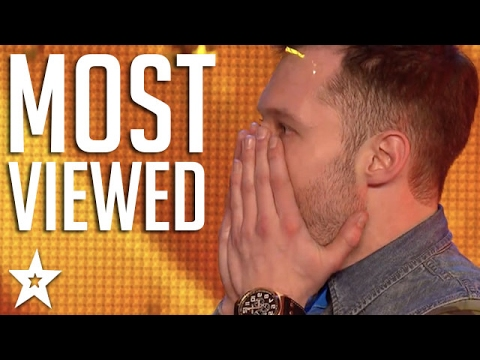 TOP 10 MOST VIEWED Britain's Got Talent Auditions! | Got Tal