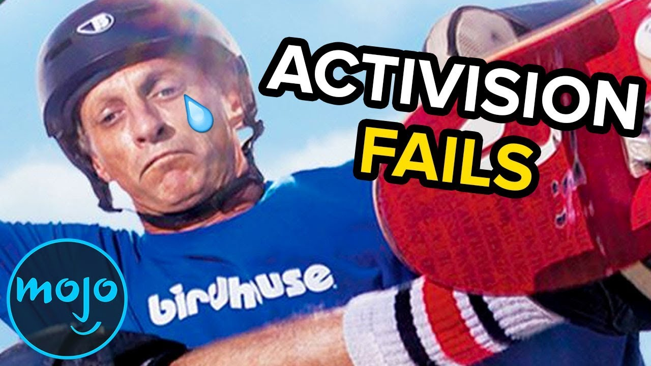 Top 10 Biggest Activision Fails
