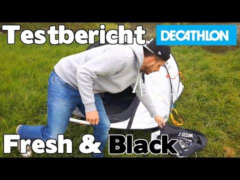 test testbericht fresh black zelt decathlon quechua. Black Bedroom Furniture Sets. Home Design Ideas