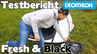 Test Testbericht Fresh & Black Zelt Decathlon Quechua - auf deutsch