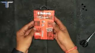 Skullcandy S2CDGY-405 Unboxing & Hands on.....