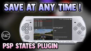 PSP States plugin ( Save your game at any time ) screenshot 4