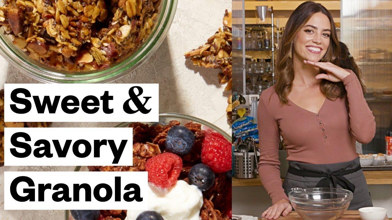 Diy Sweet Savory Granola Gluten Free Thrive Market Youtube