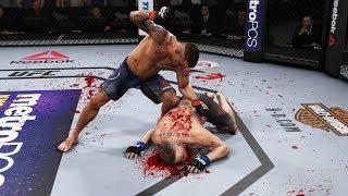 ЗАБИВАЕМ в МЯСО МИРОВОЙ РЕЙТИНГ ТОП 5 UFC 3