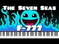 Synthesia Piano Tutorial F 777 The Seven Seas Geometry Dash Meltdown Lvl 1 mp3