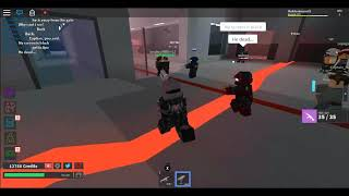 Roblox-The Grand Crossing, Life of a Marine-Medic.
