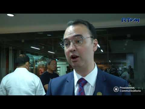 Interview with Department of Foreign Affairs Secretary Alan Peter Cayetano