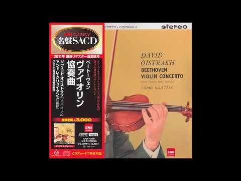 David Oistrakh French National Radio Orchestra  Beethoven Violin Concerto (1959) [JapanSACD 2012]