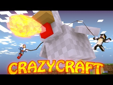 "Minecraft | CrazyCraft - OreSpawn Modded Survival Ep 90 - ""KILLING THE JOEBUZ"""