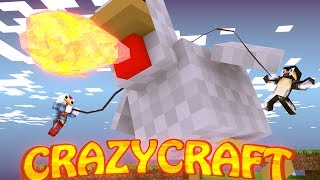 Minecraft | CrazyCraft - OreSpawn Modded Survival Ep 90 -