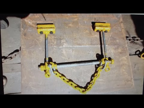 Зажим универсальный для вытяжки порогов и стоек . Ч - 2. special tool.